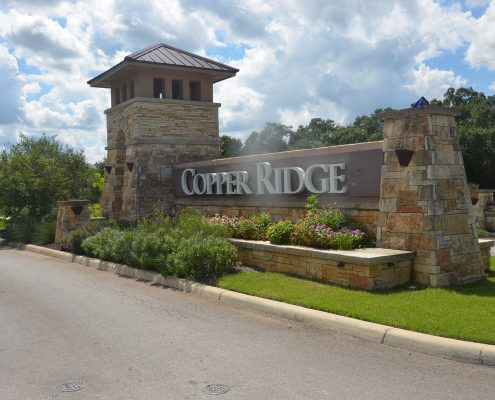 Copper Ridge Subdivision - New Braunfels Texas