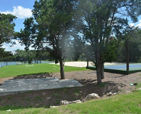 John Newcombe Estate & Country Club - New Braunfels Texas - Sports Courts - Tennis Courts and Basketball Courts