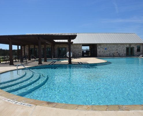 Rockwall Ranch Subdivision - Clubhouse & Pool