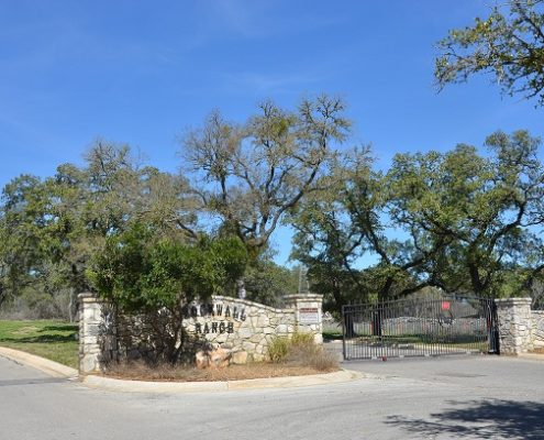 Rockwall Ranch Subdivision - Entrance