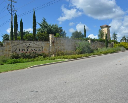 Vintage Oaks Subdivision - New Braunfels Texas