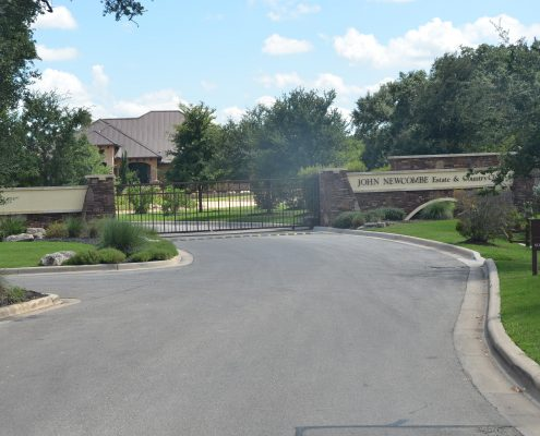 John Newcombe Estate & Country Club - New Braunfels Texas - Entrance