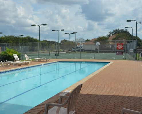 Southbank Subdivision - Lap Pool and Lighted Tennis and Basketball Courts - New Braunfels Texas
